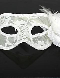 billige Masker-Karneval Maske Herre Dame Halloween Festival / høytid Halloween-kostymer Ensfarget