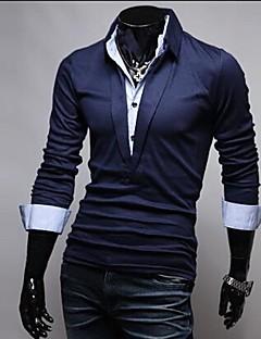 Bărbați coreean Version două bucăți Ca POLO T-Shirt