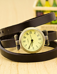 billige Armbåndsure-Dame Armbåndsur Quartz Afslappet Ur Plastik Bånd Vedhæng Sort - Rød Grøn Blå