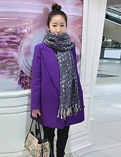 Baibian Women's Fashion Casual Lapel Neck Losoe Coat