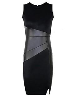 Délka po kolena - Polyester - Bez podšívky - Šaty