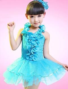 meidän lasten dancewear latinalaistanssiesityksen lapset pukeutuvat ei headpieces pukuja