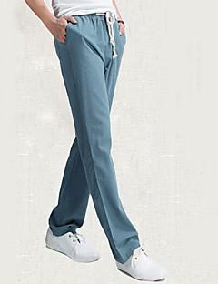 Men's Loose Linen Leisure Trousers
