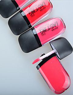 billiga Läppar-Sminkredskap Kaki Läppglans Skimmrig Glitterläppglans Smink Kosmetisk Dagligen Skötselprodukter