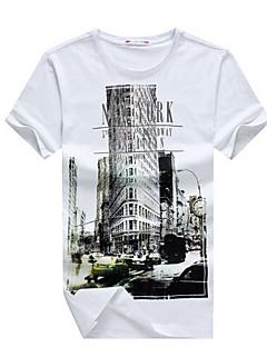 Spring Fashion E-BAIHUI Hip Hop Men T-shirt New York Fitness Skate Camisetas Swag