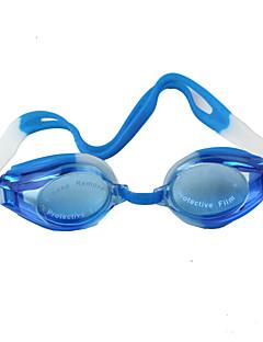 Χαμηλού Κόστους Σέρφινγκ, καταδύσεις και ψαροντούφεκο-Goggles Πισίνα Ρυθμιζόμενο μέγεθος Αδιάβροχη Πλαστικό Πλαστικό Σκούρο μπλε Διαφανές