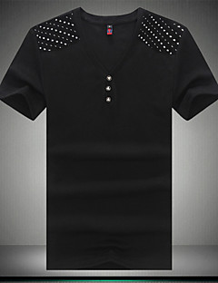 Neformalan Kratke majice - MEN - V - izrez - Kratki rukav