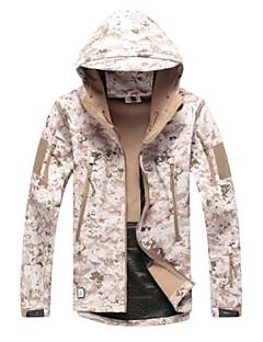 Uniszex Hosszú ujj Terepmintás vadász zakó Vízálló Ultraibolya biztos Porbiztos Légáteresztő Zakó Szélvédő kabátok Téli kabát Felsők mert