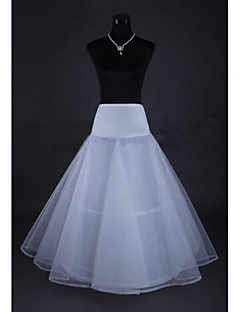 Wedding Special Occasion Slips Tulle Netting Tea-Length A-Line Slip With