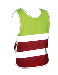 Cycling Vest Kid's Unisex Sleeveless Bike Vest/Gilet Top Winter Bike Wear Breathable Lightweight Materials Reflective Strips Camping /