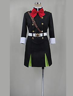 """billige Anime Kostymer-Inspirert av Seraf av End Cosplay Anime  """"Cosplay-kostymer"""" Cosplay Klær Ensfarget Topp / Skjørte / Belte Til Dame Halloween-kostymer"""