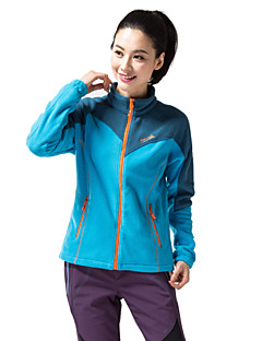 cheap Outdoor Clothing-Makino Women's Hiking Fleece Jacket Outdoor Winter Thermal / Warm Windproof Fleece Lining Insulated Front Zipper Dust Proof Antistatic