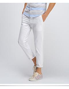 billige Herrebukser og -shorts-Herre Chic & Moderne Dressbukser Skinny Bukser Bukser Ensfarget