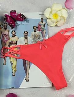 Kadın Pamuklu / Polyester / Buz İpek G-strings ve Tangalar / Ultra Seksi Külotlar / Dikişsiz,Solid