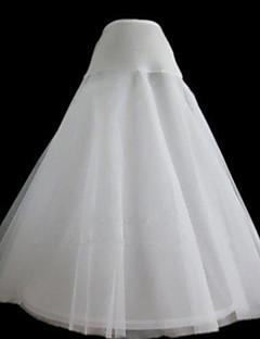 Bruiloft Onderjurken Nylon Tule Gaas Theelengte A-Lijn Slip Met Geverfd