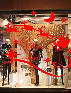 動物 コンテンポラリー ウインドウステッカー 材料 窓の飾り