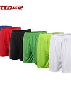 Homens Futebol Shorts Respirável Verão Outono Clássico Moderno Terylene Futebol Branco