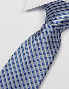 Unisex Vintage / Sievä / Juhla / Toimisto / Vapaa-aika Polyesteri Solmio-Skottiruudutus