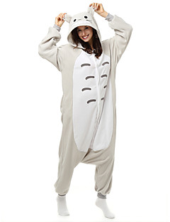Kigurumi Pyjamas Kat Totoro Kostume Polar Fleece Syntetisk Fiber Kigurumi Trikot / Heldraktskostymer Cosplay Festival / høytid Pysjamas