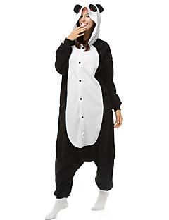 Kigurumi Pyjamas Panda Kostume Svart hvit Polar Fleece Syntetisk Fiber Kigurumi Trikot / Heldraktskostymer Cosplay Festival / høytid