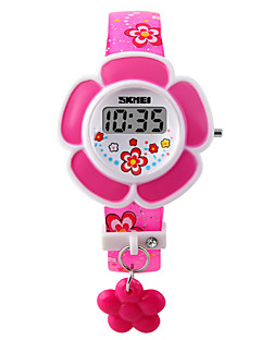 Skmei®Children Fashion LED Wrist Watch PU Strap Assorted Colors Cool Watches Unique Watches