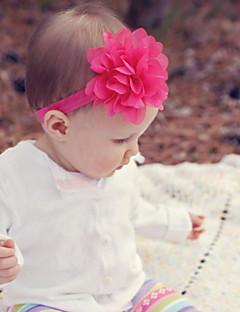 お買い得  子供用ファッション-女の子 男の子 ヘアアクセサリー,ナイロン その他 サテン オールシーズン ヘッドバンド-グリーン ブルー ピンク ダークレッド ライトブルー