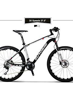 Χαμηλού Κόστους Ποδηλασία-Ποδήλατο Βουνού Ποδηλασία 30 Ταχύτητα 27.5 ιντσών SHIMANO M610 Διπλό δισκόφρενο Πιρούνι ανάρτησης με αέρα Σκελετός για ανώμαλο δρόμο Συνηθισμένο Ανθρακας / Κράμα αλουμινίου