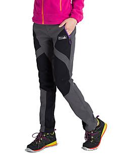 Dámské Softshell Pantolon Zahřívací Anatomický design Tepelná izolace Propustnost vůči vlhkosti Nositelný Prodyšné YKK Zipper Kalhoty