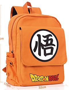 billige Anime Cosplay Tilbehør-Veske Inspirert av Dragon Ball Cosplay Anime Cosplay-tilbehør Veske ryggsekk Lerret Herre Dame ny