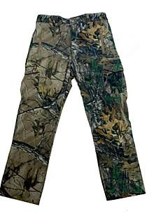 Men Outdoor Waterproof Camouflage Fleece Shell Long Trousers Camo Hunting Fishing Pants