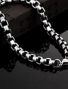 Vintage / Parti / İş / Günlük Titanyum Çelik Bağlantı / Zincir Bilezikler
