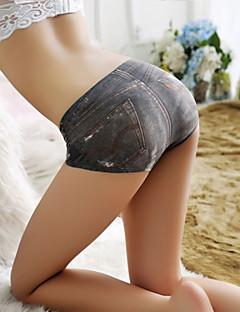 Women's Seamless Ice Silk 3D Print Panties Boy shorts & Briefs Women's Underwear Women's Lingerie
