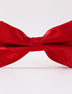 tanie Pan młody i drużbowie-Męskie Impreza/Wieczór Styl formalny Luksusowy Prążki Biuro / Biznes Modne Muszka Kreatywne
