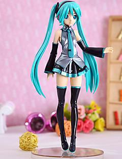 billige Anime cosplay-Anime Action Figurer Inspirert av Vokaloid Hatsune Miku PVC 21.5 cm CM Modell Leker Dukke Dame ny Varmt