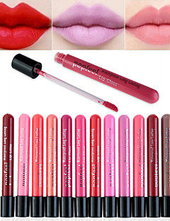 cheap Makeup For Lips-Lip Gloss Wet Matte Liquid Fast Dry Moisture Coverage Long Lasting Natural Waterproof Breathable 1