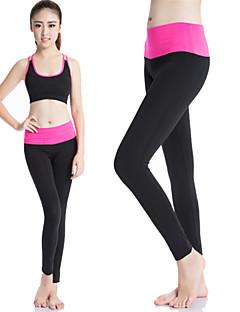 Mulheres Leggings de Corrida Leggings de Ginástica Secagem Rápida Compressão Redutor de Suor Roupas de Compressão Meia-calça Calças