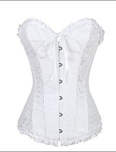 Top de espartilho floral gótico de lingerie de querido de mulheres shaperdiva top