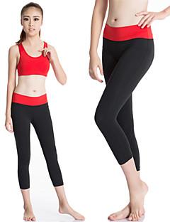 Mulheres Leggings de Corrida Camiseta Segunda Pele Leggings de Ginástica Secagem Rápida Compressão Redutor de Suor Roupas de Compressão