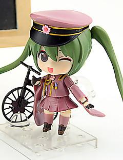 billige Anime cosplay-Anime Action Figurer Inspirert av Vokaloid Hatsune Miku 10cm CM Modell Leker Dukke