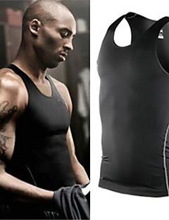 billige Løbetøj-Herre Træningsundertrøje Hurtigtørrende, Blød, letvægtsmateriale Tights / Kompressionstøj / Underdele Yoga / Træning & Fitness / Racing