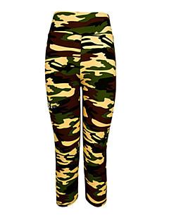 Mulheres Leggings de Ginástica Leggings de Corrida Camiseta Segunda Pele Secagem Rápida Vestível Compressão Resistente ao Choque 3/4