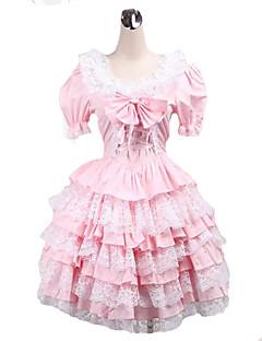Sweet Lolita Lolita Dámské Jednodílné Šaty Cosplay Krátký rukáv