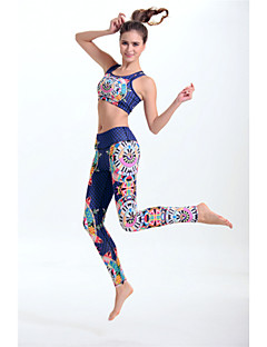 Women's Sport Bra with Running Pants Quick Dry Lightweight Materials Sweat-wicking smooth Sports Bra Pants / Trousers Leggings Top