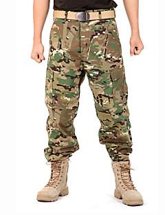 Pánské Maskovací lovecké kalhoty Zahřívací Větruvzdorné Nositelný Antistatický Prodyšné Tričko Vrchní část oděvu pro Outdoor a turistika