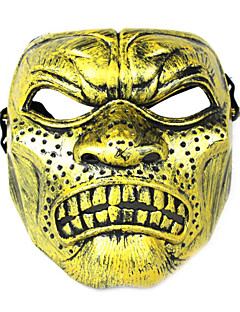 baratos Máscaras-Monstros Máscara Homens Mulheres Dia Das Bruxas Festival / Celebração Trajes da Noite das Bruxas Roupa Estampado