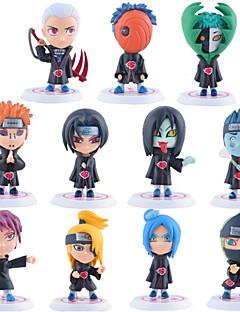 billige Anime cosplay-Anime Action Figurer Inspirert av Naruto Itachi Uchiha PVC CM Modell Leker Dukke