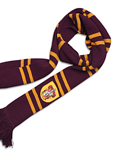 Harry Striped Scarf Gryffindor/Slytherin/Ravenclaw/Hufflepuff Halloween Cosplay Costumes Potter