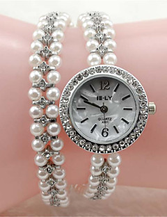 Women's Fashion Watch Bracelet Watch Quartz Alloy Band Elegant Silver