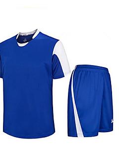 tanie Koszulki piłkarskie i szorty-DZIECIĘCE Piłka nożna Koszulka + spodenki Zestawy odzieży/Garnitury Oddychający Quick Dry Wiosna Lato Jesień Zima Klasyczny Terylene