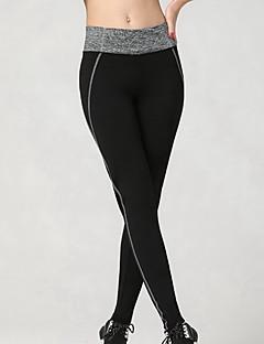 Dames Hardloopbroeken Ademend Zacht Compressie Glad Legging Kleding Onderlichaam voor Training&Fitness Hardlopen Grijs S M L XL